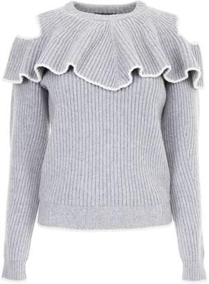 Alexander McQueen Ruffled Pullover