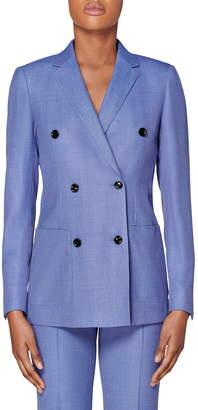 SUISTUDIO Double Breasted Wool Jacket