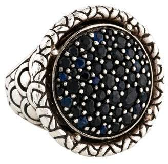 John Hardy Sapphire Midnight Colorway Ring