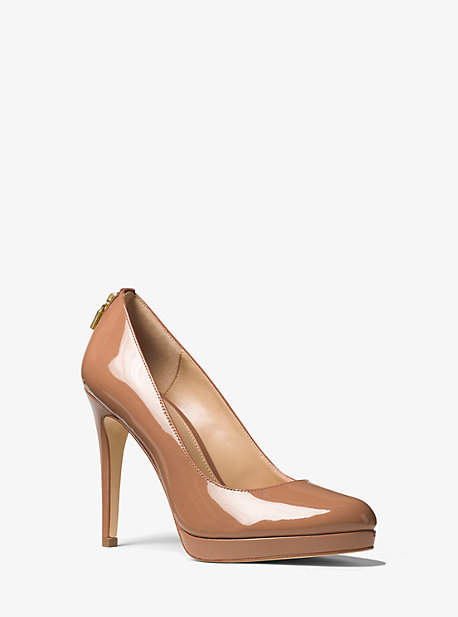 Michael Kors Antoinette Patent Leather Pump
