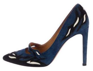 Isabel Marant Suede Pointed-Toe Pumps