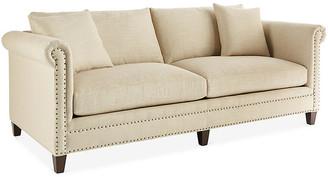 Massoud Furniture Francis Sofa - Natural Linen