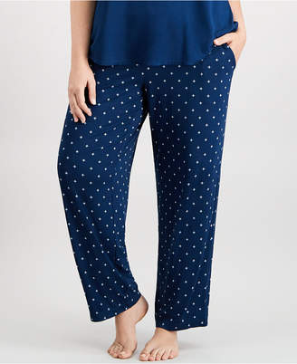 Alfani Plus Size Printed Pajama Pants
