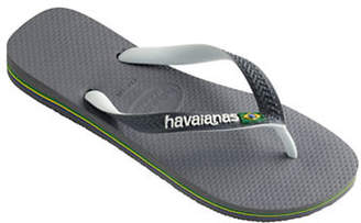 Havaianas Flag Embossed Flip Flop Sandals