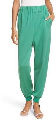 Tibi Astor Knit Jogger Pants