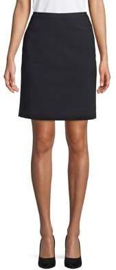 Anne Klein Zipped Mini Skirt