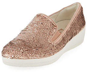 FitFlop Sequined Platform Super Skate Sneakers