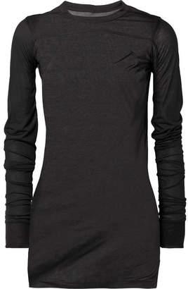 Rick Owens Silk Top - Black