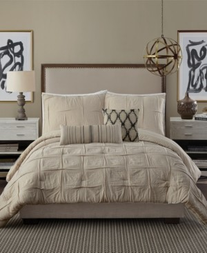 Ayesha Curry Natural Instincts Double Cloth King 3-Pc Comforter Set Bedding