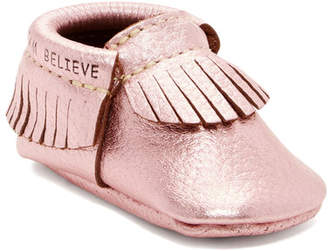 First Steps Genuine Leather Moccasin (Baby & Toddler)