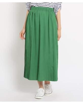 Dessin (デッサン) - Ladies [WEB限定][Lサイズあり][ウエストゴム]選べるカラープリーツスカート
