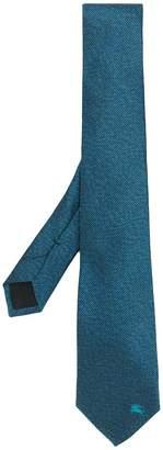 Burberry logo tie