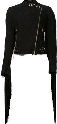 Ralph Lauren fringed biker jacket $7,573 thestylecure.com