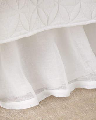 Pom Pom at Home Queen Linen Voile Dust Skirt
