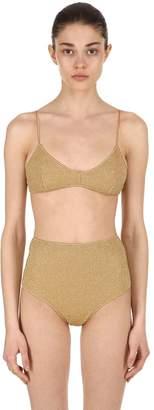 Lycra & Lurex High Waist Bikini