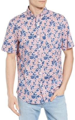 Vineyard Vines Slim Fit Tucker Batik Floral Woven Shirt
