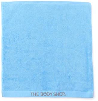 The Body Shop (ザ ボディショップ) - ザ・ボディショップ オーガニックコットンハンドタオル アクア