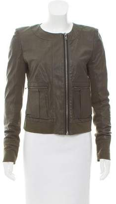 A.L.C. Long Sleeve Leather Jacket