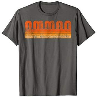 Vintage Retro Amman Jordan T Shirt Souvenir