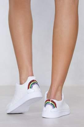 Nasty Gal Seven Wonders Sequin Sneaker