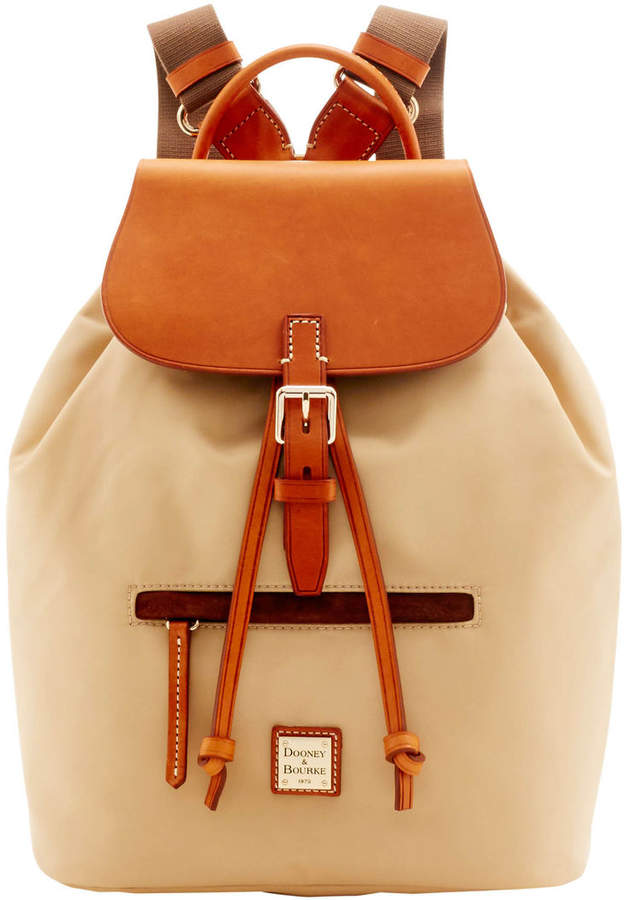 Dooney & Bourke Windham Allie Backpack - BEIGE - STYLE