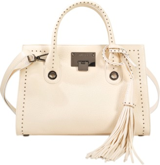 Jimmy Choo Riley M tote with tassels $1,008 thestylecure.com