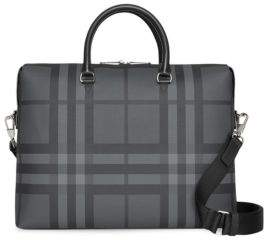 Burberry Manchester Check Briefcase