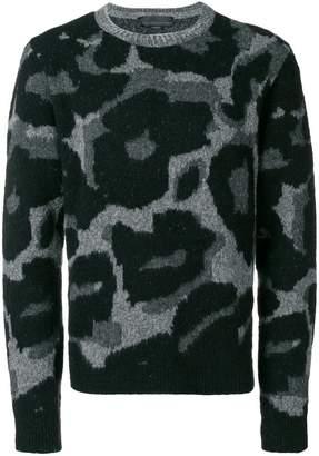 Stella McCartney leopard print jumper