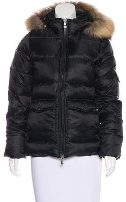 Pyrenex Fur-Trimmed Down Jacket