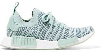 adidas Nmd_r1 Rubber-trimmed Primeknit Sneakers - Mint