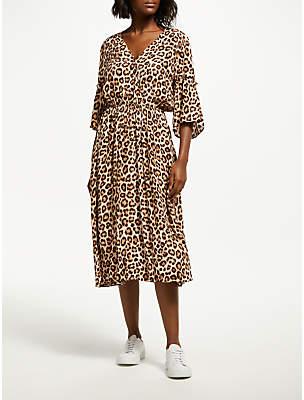 Mathieu Leopard Dress, Leon
