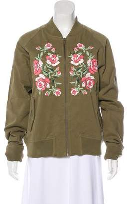 Anine Bing Embroidered Casual Jacket w/ Tags