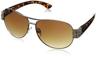 998c09c2859b0 Betsey Johnson Women s Rachael Aviator Sunglasses