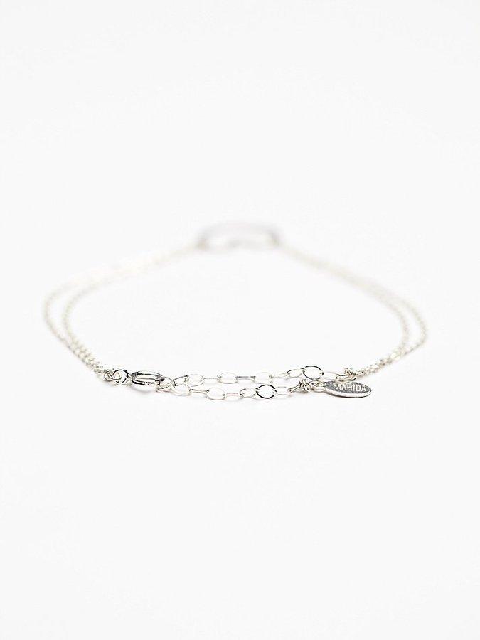 Free People Marida Heart Bracelet