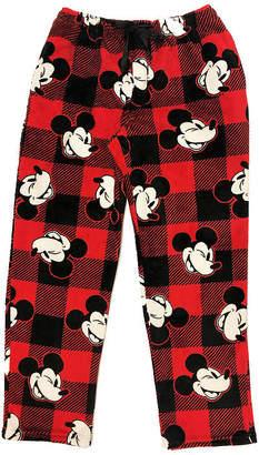 Disney Mickey Mouse Mens Plush Pajama Pants