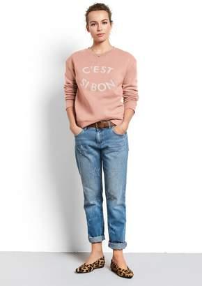 Hush Frayed Star Jeans