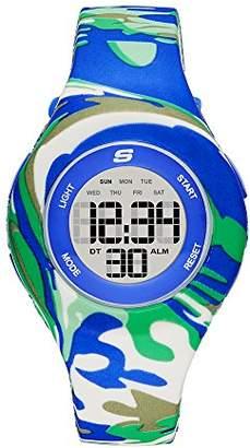 Skechers Women's Spreckles Digital Silicone Chronograph Watch
