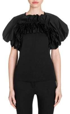 Alexander McQueen Puff-Sleeve T-Shirt