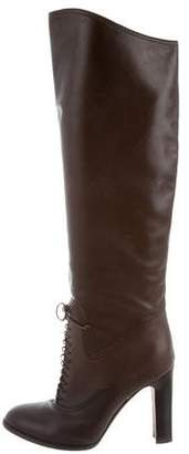 Tom Ford Lace-Up Knee-High Boots