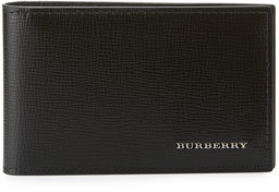 Burberry London Leather Wallet, Black $250 thestylecure.com
