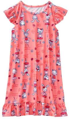 Gymboree Bunny Ballet Night Gown