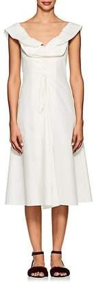 Brock Collection Women's Dawn Cotton-Silk Poplin Dress