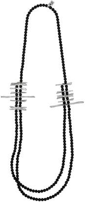 Uno de 50 Stalactite Bar Beaded Double-Strand Necklace