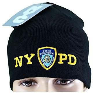 Factory NYC NYPD No Fold Winter Hat Beanie Skull Cap Officially Licensed