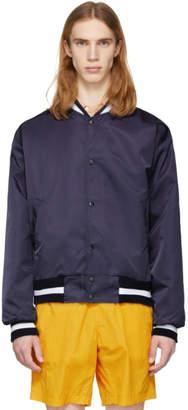 paa Navy Gymnasium Bomber Jacket
