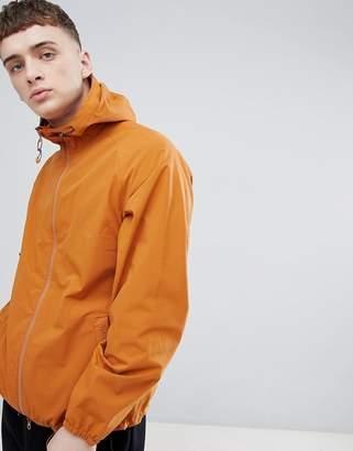 Barbour Irvine Waterproof Jacket In Orange