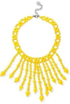 Ben-Amun Beaded Silver-Tone Necklace