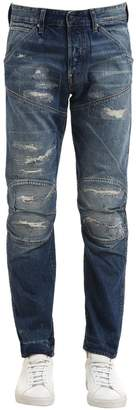 G Star 5620 3d Restored Ripped Denim Jeans