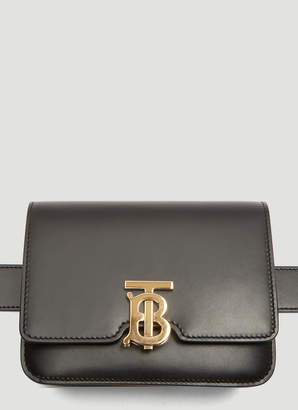 Burberry Belted TB Bag in Black