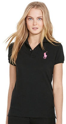 Ralph Lauren Pink Pony Pink Pony Cotton Polo Shirt $98.50 thestylecure.com